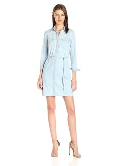 Calvin Klein Jeans Women's Denim Western Dress  X-Large