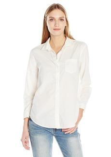 Calvin Klein Jeans Women's Easy Boyfriend Button Down Shirt
