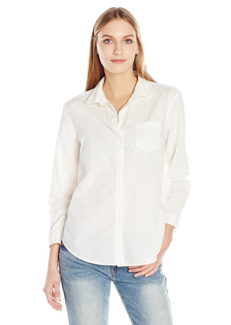 Calvin Klein Calvin Klein Jeans Women s Easy Boyfriend Button Down ... 7b56cdadd6