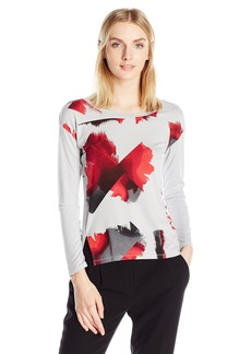 Calvin Klein Jeans Women's Easy Printed Sweatshirt  MEDIUM