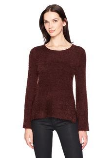 Calvin Klein Jeans Women's Fuzzy Flare Sleeve Sweater