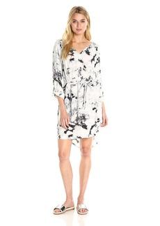 Calvin Klein Jeans Women's Graphic Print Modern Boho Dress  X-LARGE