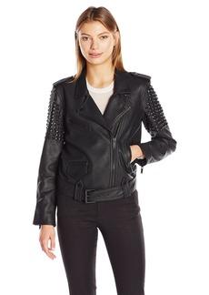 Calvin Klein Jeans Women's Heavy Metal Biker Jacket