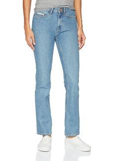 Calvin Klein Jeans Women's High Rise Straight Leg Jean