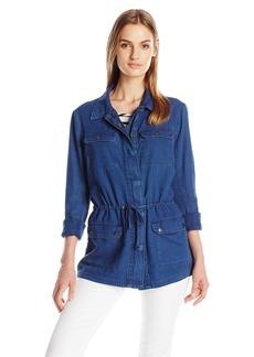 Calvin Klein Jeans Women's Indigo Parka