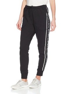 Calvin Klein Jeans Women's Jogger Pant Logo Side Tape  XL