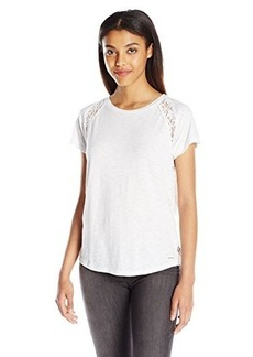 Calvin Klein Jeans Women's Lace Pieced Tee