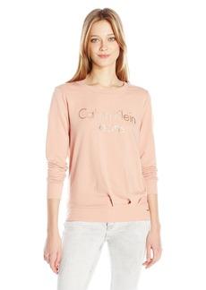 Calvin Klein Jeans Women's Logo Sweatshirt  X-LARGE