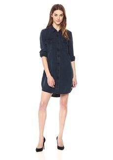 Calvin Klein Jeans Women's Long Sleeve Denim Shirt Dress