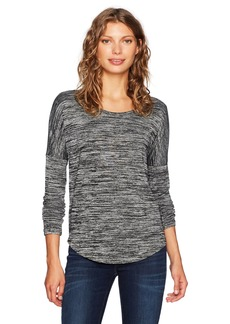 Calvin Klein Jeans Women's Long Sleeve Scoop Neck T-Shirt