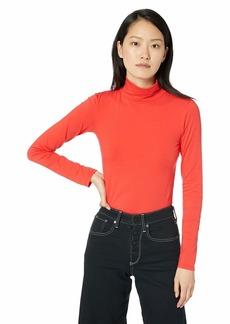 Calvin Klein Jeans Women's Long Sleeve Turtleneck Sweater