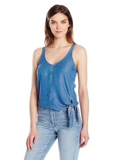 Calvin Klein Jeans Women's Lyocell Tank Top with Side Tie