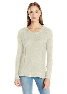 Calvin Klein Jeans Women's Metallic Cropped Sweater