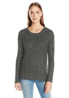 Calvin Klein Jeans Women's Metallic Cropped Sweater