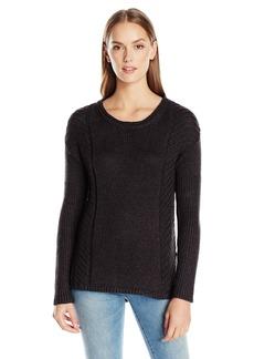 Calvin Klein Jeans Women's Metallic Cropped Sweater  X-LARGE
