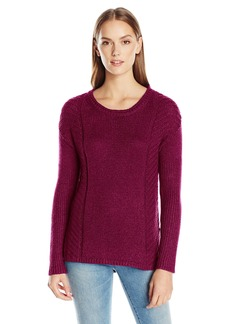 Calvin Klein Jeans Women's Metallic Cropped Sweater  X-SMALL