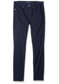 Calvin Klein Women's Mid Rise Super Skinny Fit Jeans ZES Rinse