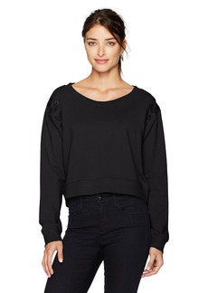 Calvin Klein Jeans Women's Military Bondage Lace up Sweatshirt