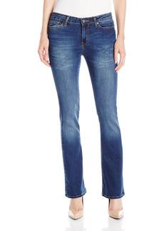 Calvin Klein Jeans Women's Modern Bootcut Jean Dark Wash 27/4 Short
