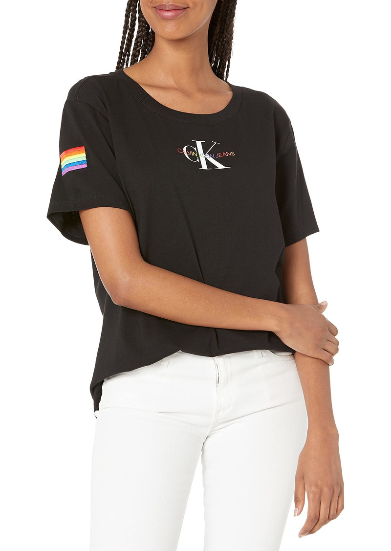 Calvin Klein Jeans Women's Monogram Tee  Extra Large
