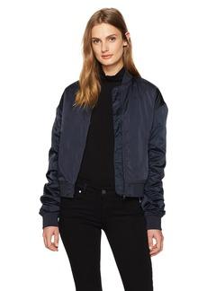 Calvin Klein Jeans Women's Motion Sport Bomber Jacket  LARGE