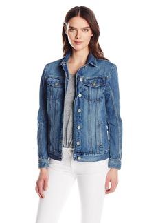 Calvin Klein Jeans Women's Oversized Fit Boyfriend Trucker Jacket  MEDIUM