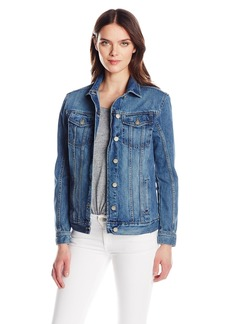 Calvin Klein Jeans Women's Oversized Fit Boyfriend Trucker Jacket  SMALL