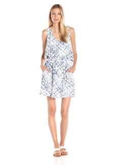 Calvin Klein Jeans Women's Printed Tencel Racerback Dress