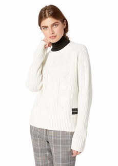 Calvin Klein Jeans Women's Pullover Wool Sweater
