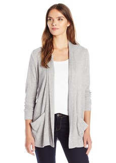 Calvin Klein Jeans Women's Shawl Collar Rib Cardigan Sweater