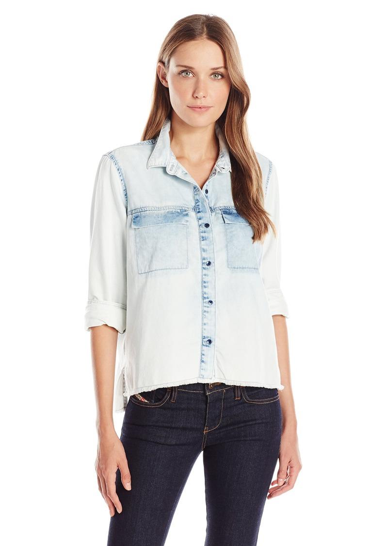 Calvin Klein Jeans Women's Denim Shirt  edium