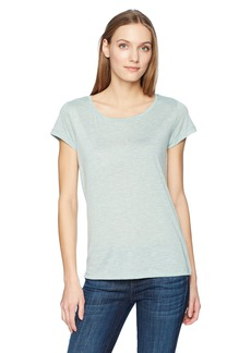 Calvin Klein Jeans Women's Short Sleeve Color Block Melange T-Shirt