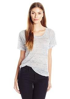 Calvin Klein Jeans Women's Short Sleeve Fleck Raglan Tee