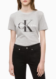 Calvin Klein Jeans Women's Short Sleeve T-Shirt Monogram Logo  S