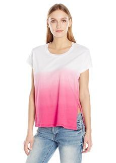 Calvin Klein Jeans Women's Short Sleeve T-Shirt Tie Knot