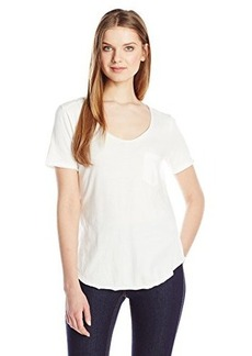 Calvin Klein Jeans Women's Short Sleeve V-Neck T-Shirt
