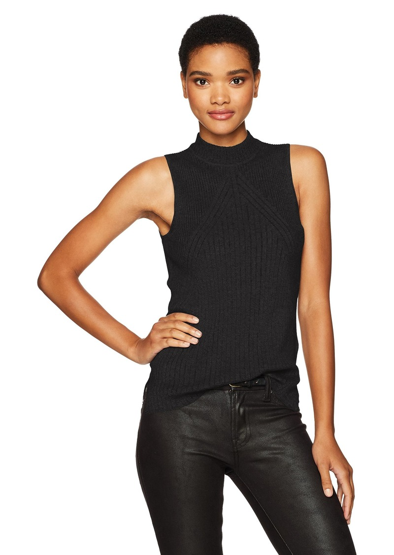 Calvin Klein Jeans Women's Sleeveless Mock Neck Pullover Top