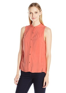 Calvin Klein Jeans Women's Sleeveless Pop Over Blouse