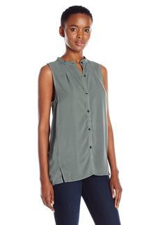 Calvin Klein Jeans Women's Sleeveless Popover Blouse