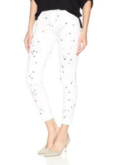 Calvin Klein Jeans Women's Slub Twill Pant Ankle Skinny
