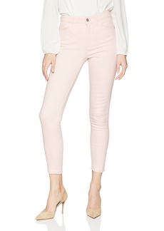 Calvin Klein Jeans Women's Slub Twill Pant High Rise Ankle Skinny