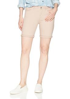 Calvin Klein Jeans Women's SLUB Twill Rolled Short