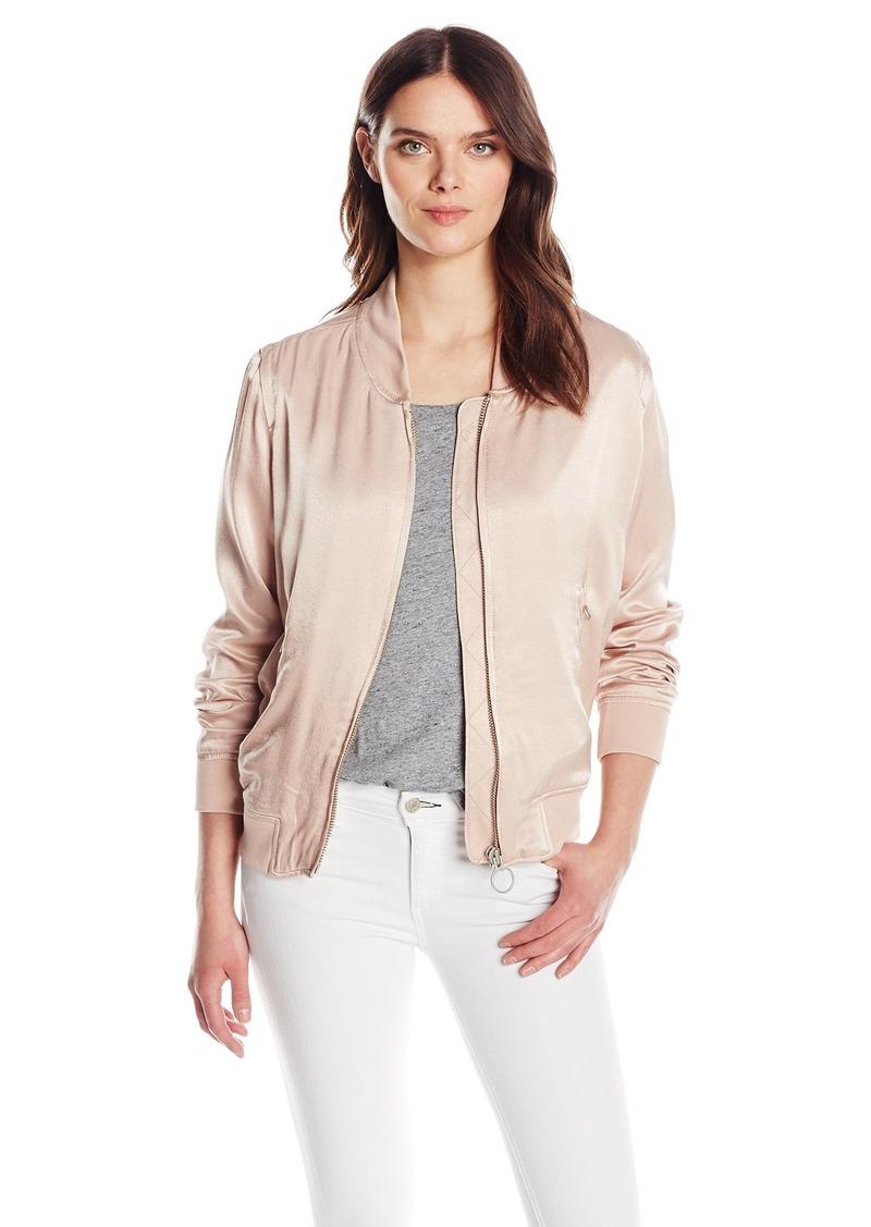 Calvin Klein Jeans Women's Solid Seduction Bomber Jacket