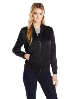 Calvin Klein Jeans Women's Solid Seduction Bomber Jacket  MEDIUM