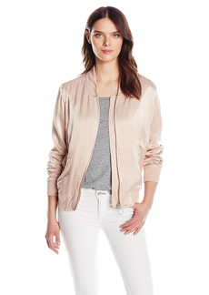 Calvin Klein Jeans Women's Solid Seduction Bomber Jacket  X-LARGE