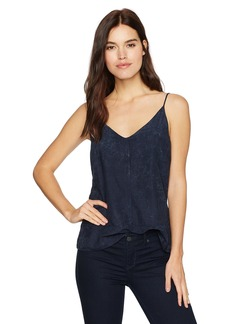 Calvin Klein Jeans Women's Solid V-Neck Cami  X-SMALL
