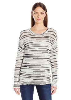 Calvin Klein Jeans Women's Space Dye Crew Neck Sweater