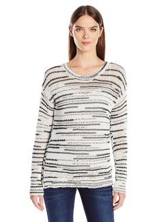 Calvin Klein Jeans Women's Space Dye Crew Neck Sweater