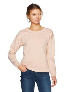 Calvin Klein Jeans Women's Split Calvin Logo Sweatshirt