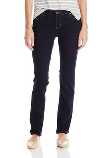 Calvin Klein Jeans Women's Straight Leg Jean Dark Rinse 27x30